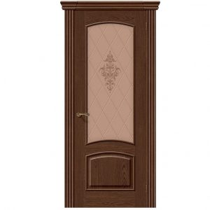 Дверь межкомнатная Амальфи Т-32 со стеклом