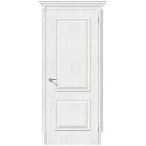 Белая межкомнатная дверь экошпон Классико-12 (new) Royal Oak