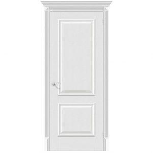 Белая межкомнатная дверь Классико-12 Virgin