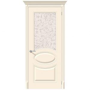 Дверь межкомнатная Джаз К-14 Крем
