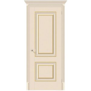Дверь межкомнатная Классико-32G-27 Ivory