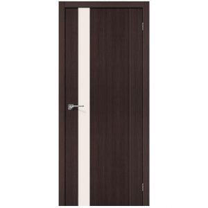 Межкомнатная дверь со стеклом Порта-11 Wenge Veralinga
