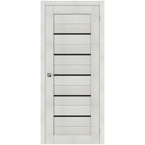 Дверь межкомнатная Порта-22 Bianco Veralinga/Black Star