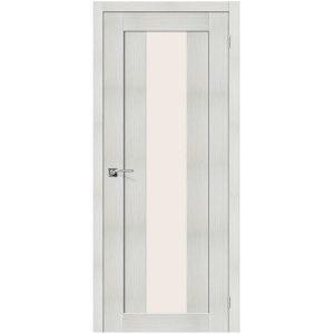 Дверь межкомнатная Порта-25 alu Bianco Veralinga
