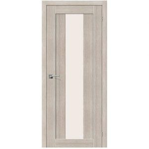Дверь межкомнатная Порта-25 alu Cappuccino Veralinga