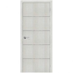 Дверь межкомнатная Порта-50А-6 Bianco Crosscut