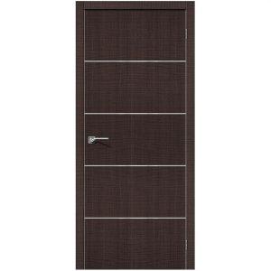 Дверь межкомнатная Порта-50А-6 Wenge Crosscut