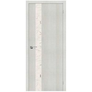 Дверь межкомнатная Порта-51 SA Bianco Crosscut