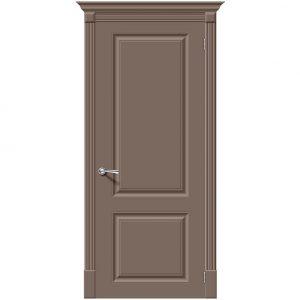 Дверь межкомнатная Скинни-12 Mocca