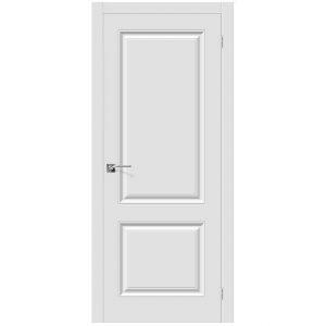 Межкомнатные двери ПВХ Браво Скинни-12 П-23 Белый