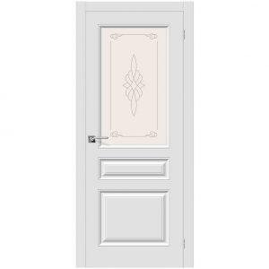 Дверь межкомнатная Скинни-15 П-23 Белый