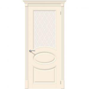 Дверь межкомнатная Скинни-21 Cream