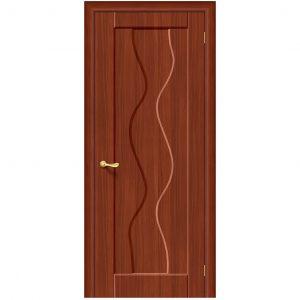 Дверь межкомнатная Вираж Плюс П-17 ИталОрех