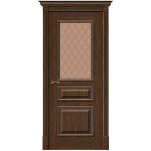 Дверь межкомнатная Вуд Классик-15.1 Golden Oak