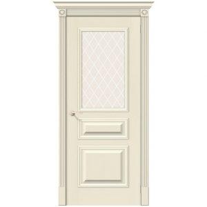 Дверь межкомнатная Вуд Классик-15.1 Ivory