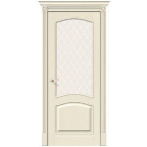 Дверь межкомнатная Вуд Классик-33 Ivory