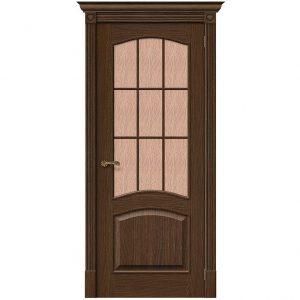Дверь межкомнатная Вуд Классик-33 (Капри-3) Golden Oak