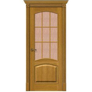 Дверь межкомнатная Вуд Классик-33 (Капри-3) Natur Oak