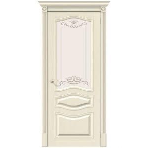 Дверь межкомнатная Вуд Классик-51 Ivory
