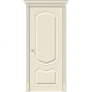 Дверь межкомнатная Вуд Классик-52 Ivory