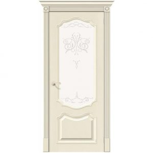 Дверь межкомнатная Вуд Классик-53 Ivory