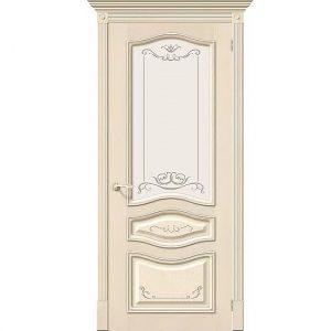 Дверь межкомнатная Леона Деко Д-15 со стеклом