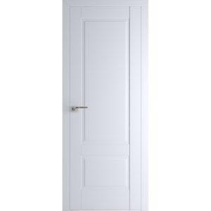 Белая межкомнатная дверь Профиль Дорс 105U Аляска