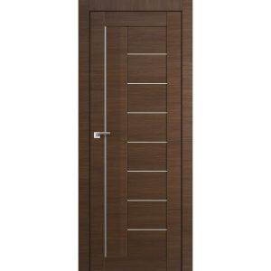 Межкомнатная дверь со стеклом Профиль Дорс 17Х Малага Черри