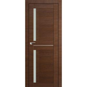 Межкомнатная дверь со стеклом 19Х Малага Черри