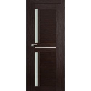 Межкомнатная дверь со стеклом Профиль Дорс 19Х Венге Мелинга