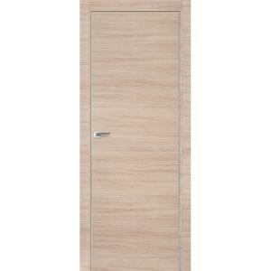Дверь межкомнатная 1Z Капучино Кроскут кромка матовая с 4-х сторон или хром с 2-х сторон