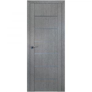 Дверь межкомнатная 2.07XN Грувд Cерый