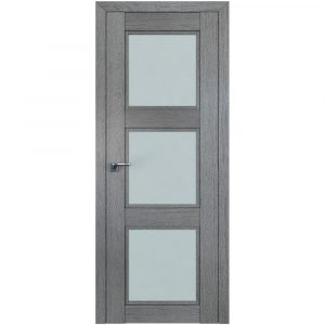 Дверь межкомнатная 2.27XN Грувд Cерый