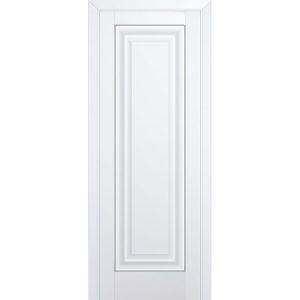Белая матовая глухая межкомнатная дверь Профиль Дорс 23U Аляска