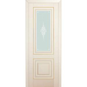 Дверь межкомнатная 28U Магнолия Сатинат