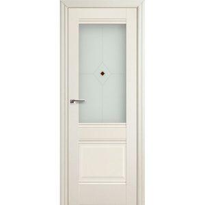 Дверь межкомнатная 2Х Эш Вайт