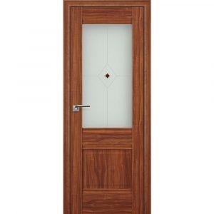 Дверь межкомнатная 2Х Орех Амари