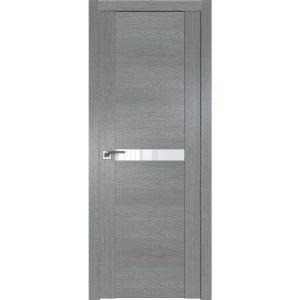 Дверь межкомнатная 2.01XN Грувд Cерый