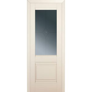Дверь межкомнатная 2U Магнолия Сатинат