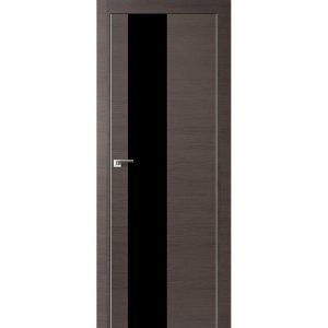 Дверь межкомнатная 5Z Грей Кроскут кромка матовая с 4-х сторон или хром с 2-х сторон