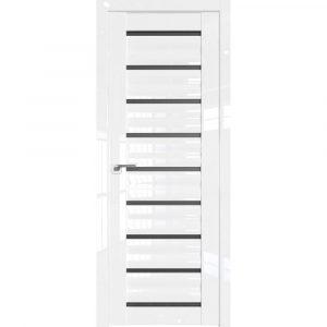 Белые межкомнатные двери Профиль Дорс 76l Белый Люкс