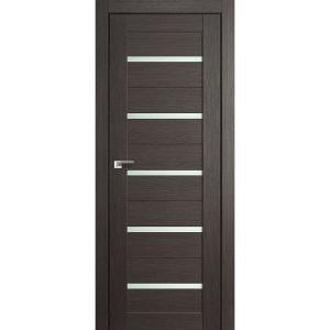 Межкомнатная дверь со стеклом Профиль Дорс 7Х Грей Мелинга