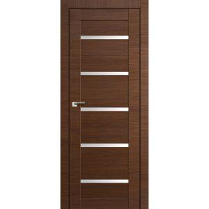 Межкомнатная дверь со стеклом Профиль Дорс 7Х Малага Черри