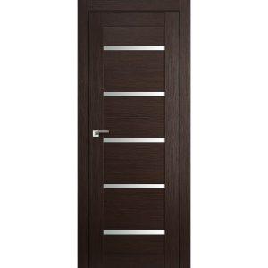 Межкомнатная дверь со стеклом Профиль Дорс 7Х Венге Мелинга