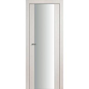 Дверь межкомнатная 8Х Эш Вайт Мелинга