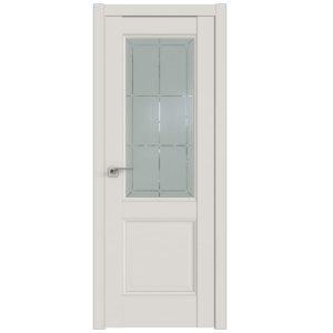 Дверь межкомнатная 90U Дарквайт