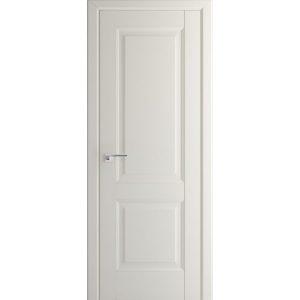 Светлая межкомнатная дверь глухая Профиль Дорс 91U Магнолия Сатинат