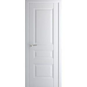 Межкомнатная белая глухая дверь 95U Аляска
