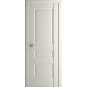 Светлая глухая межкомнатная дверь 95U Магнолия сатинат