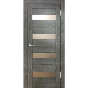 Дверь межкомнатная Бавария 02 3Д-Люкс Дуб Эдисон Серый